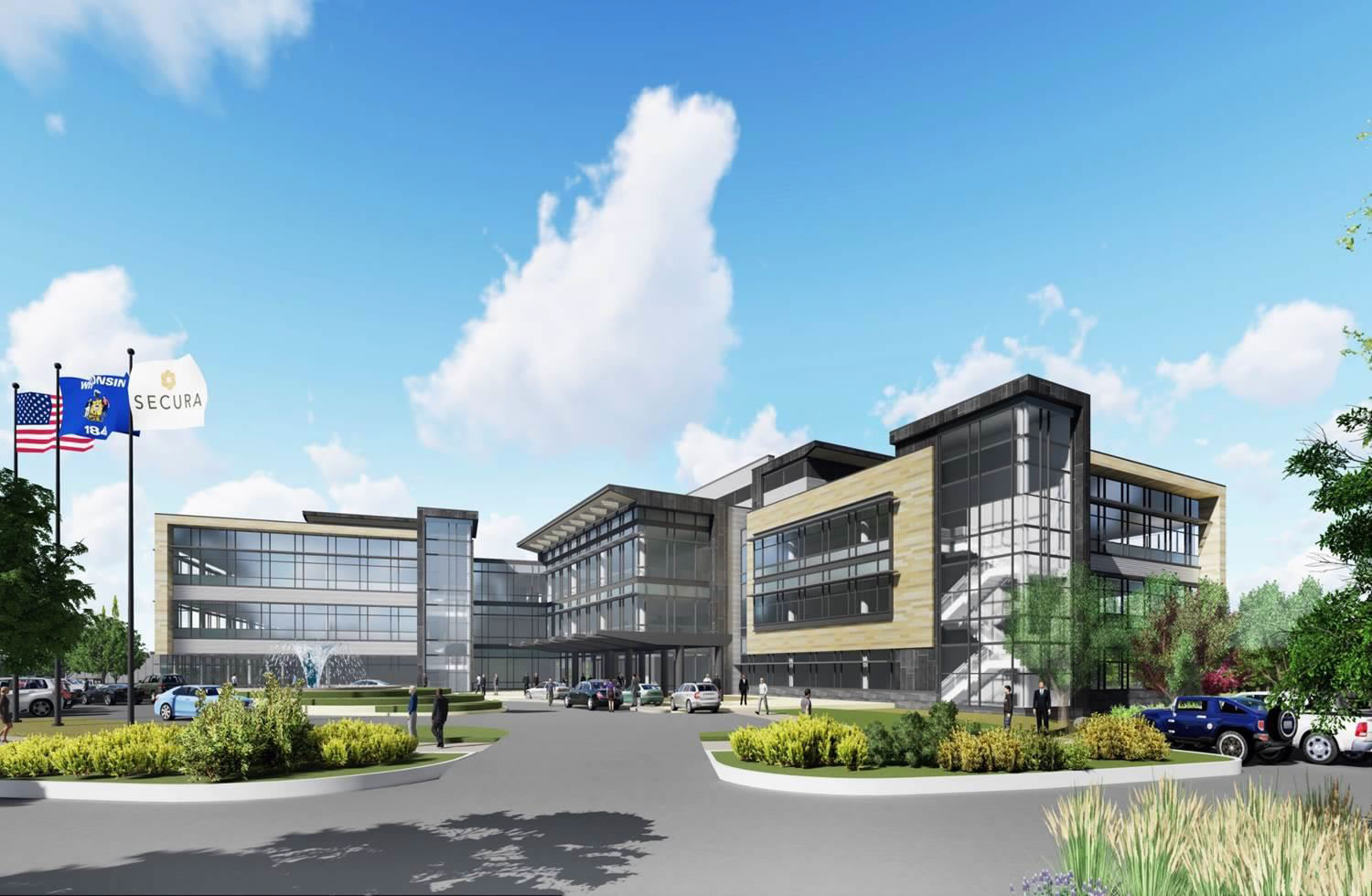 Secura Insurance Secura Breaks Ground On Construction Of New Facility
